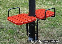 Malus Dolgo City Seat pall offentlig miljö utomhus utomhusmiljö